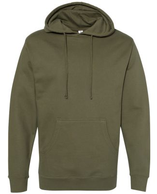 SS4500 Independent Trading Co. Midweight Hooded Sw Army