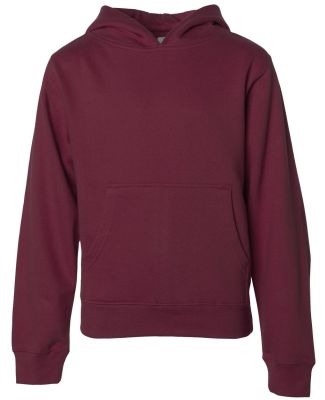 SS4001Y Independent Trading Co. Youth Midweight Ho Maroon
