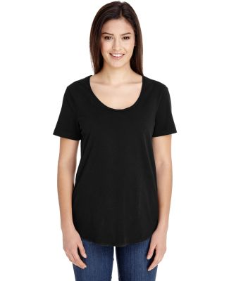 RSA6320 American Apparel Ultra Wash Tee Black