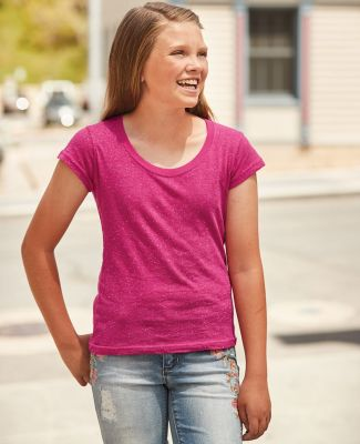 8129 J. America - Youth Glitter T-Shirt Catalog