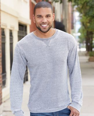 8241 J. America - Vintage Zen Thermal Long Sleeve T-Shirt  Catalog