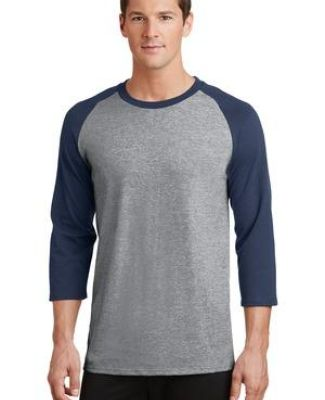 PC55RS Port & Company® 50/50 3/4-Sleeve Raglan Catalog