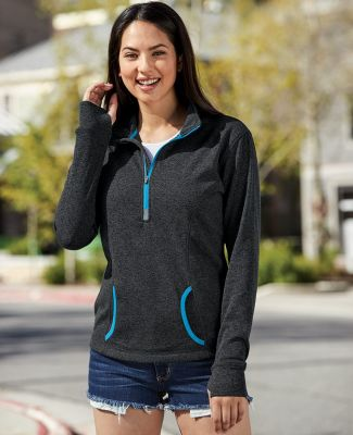8617 J. America Women's Cosmic Fleece Quarter Zip Pullover Catalog