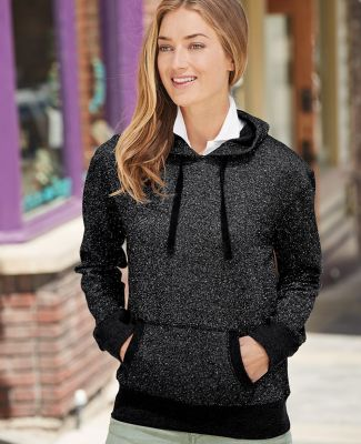 8860 J. America Women's Glitter French Terry Hooded Pullover Catalog