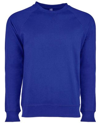 Next Level N9000 Unisex Terry Raglan Pullover ROYAL