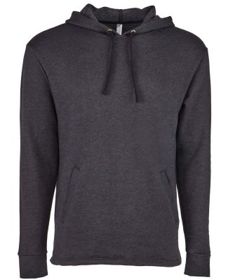9300 Next Level Unisex PCH Pullover Hoody  HEATHER BLACK
