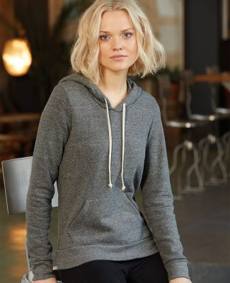 Alternative Apparel 9596 Womens Eco-Fleece Pullover Hoodie Catalog
