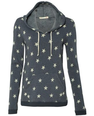 Alternative Apparel 9596 Womens Eco-Fleece Pullove STARS