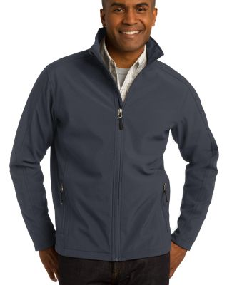 J317 Port Authority Core Soft Shell Jacket Battleship Gry
