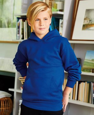 P470 Hanes Youth EcoSmart Pullover Hooded Sweatshirt Catalog