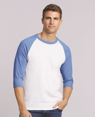 5700 Gildan Heavy Cotton Three-Quarter Raglan T-Shirt Catalog