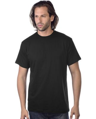 M1045 Crew Neck Men's Jersey T-Shirt  Black