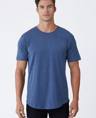 MC1050 Cotton Heritage Drop Tail Crew Neck T-shirt Catalog