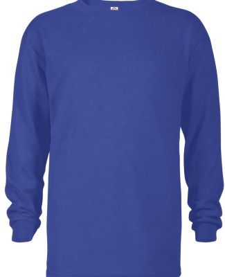 64900L Youth Retail Fit Long Sleeve Tee 5.2 oz ROYAL