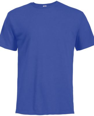 18100 Delta Apparel Adult 30/1's Athletic Fit Tee  ROYAL