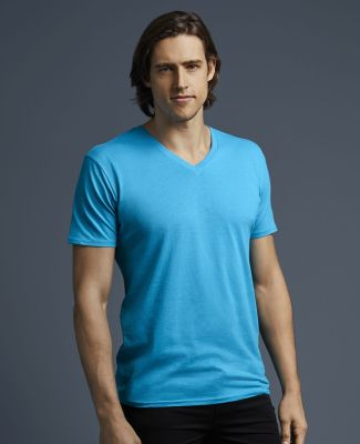 352 Anvil 3.2 oz. Featherweight Short-Sleeve V-Neck T-Shirt Catalog