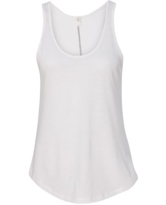 Alternative Apparel AA5054 Backstage 50/50 Tank WHITE