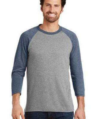 DM136 District Made Mens Perfect Tri-Blend Raglan Catalog