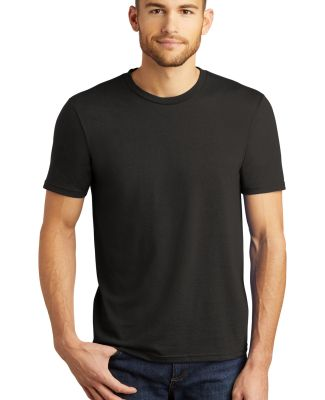DM130 District Made Mens Perfect Tri-Blend Crew Te Black