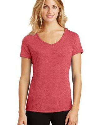 DM1350L District Made Ladies Perfect Tri-Blend V-Neck  Catalog