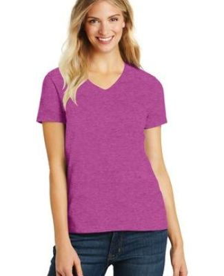 DM1190L District Made Ladies Perfect Blend V-Neck Tee Catalog