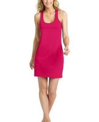 DM423 District Made Ladies Poly-Cotton Racerback Dress Catalog