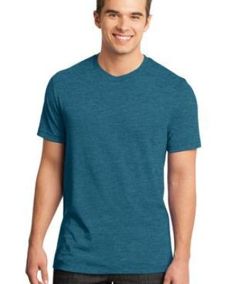 District  DT1400 Young Mens Gravel 50/50 Notch Crew Tee Catalog