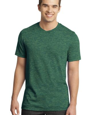 District  DT1400 Young Mens Gravel 50/50 Notch Cre Green Gravel
