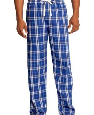 District DT1800 Young Mens Flannel Plaid Pant Catalog