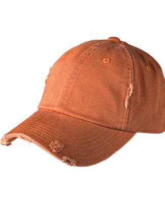 District DT600 Distressed Dad Hat Burnt Orange