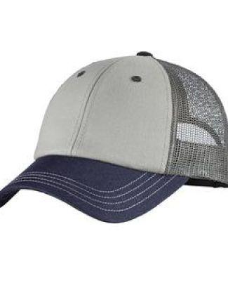 DT616 District Tri-Tone Mesh Back Cap  Catalog