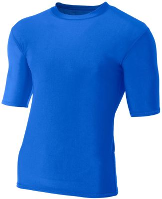 N3283 A4 Adult Compression Tee Royal