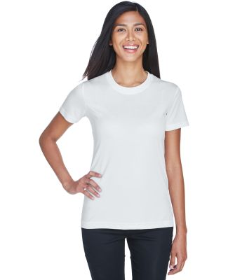 UltraClub 8620L Ladies' Cool & Dry Basic Performa WHITE