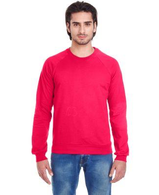 American Apparel 5454 Unisex California Fleece Rag Red