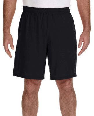 Gildan G44S30 Performance Nine Inch Shorts BLACK