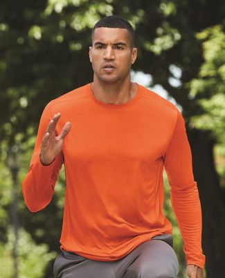 Gildan G474 Adult Tech Long Sleeve T-Shirt Catalog