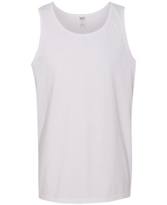 Gildan 5200 Heavy Cotton Tank Top WHITE