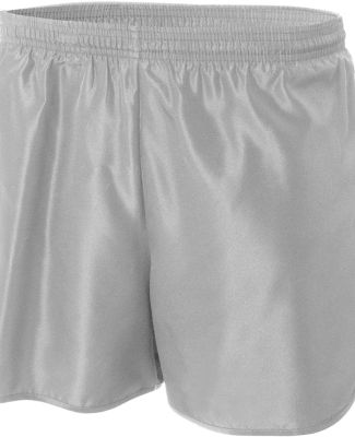 N5344 A4 Drop Ship Men's Running Shorts Silver