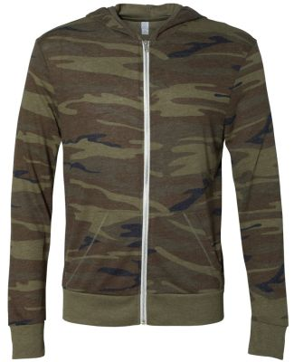 AA1970P Alternative Men's Eco Long-Sleeve Printed  CAMO