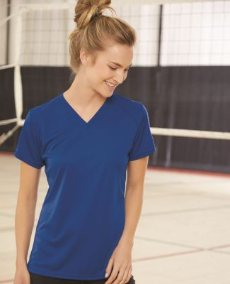 4162 Badger Badger - Ladies' B-Dry Core V-Neck Tee - 4162 Catalog
