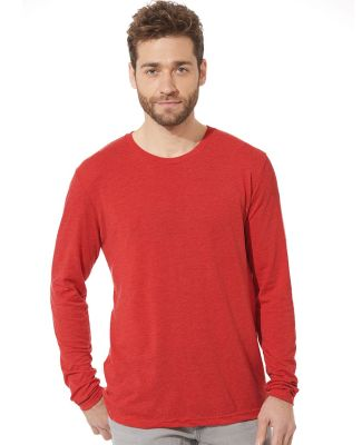 6071 Next Level Men's Triblend Long-Sleeve Crew Tee Catalog