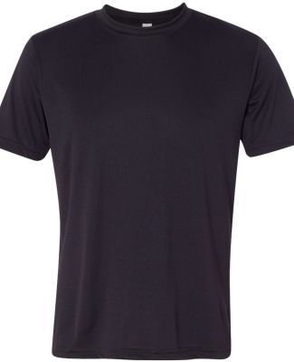 All Sport M1009 Polyester Sport T-Shirt Black