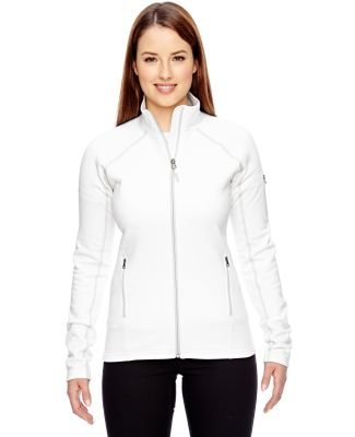 89560 Marmot Ladies' Stretch Fleece Jacket WHITE 080