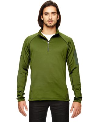 80890 Marmot Men's Stretch Fleece Half-Zip GREENLAND