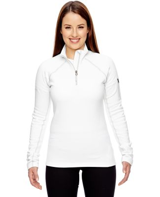 89610 Marmot Ladies' Stretch Fleece Half-Zip WHITE