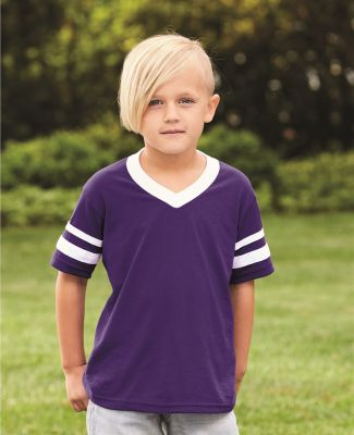 Augusta Sportswear 361 Youth V-Neck Football Tee Catalog