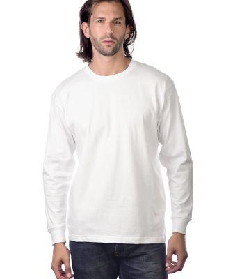 Cotton Heritage MC1182 Long Sleeve Cotton Tee White