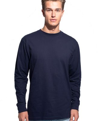 Cotton Heritage MC1182 Long Sleeve Cotton Tee Navy