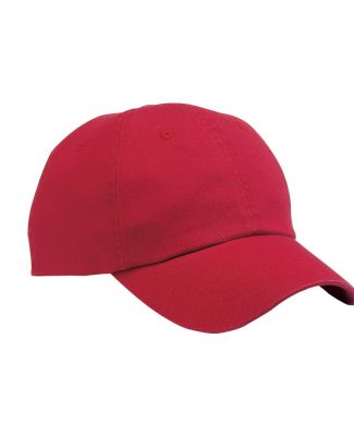 Port & Company CP78 Washed Dad Hat  Red