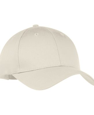 Port & Company CP80 Six-Panel Twill Cap Oyster